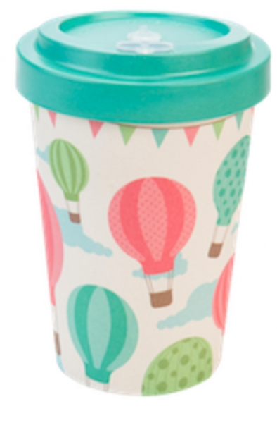 Productos naturales y BIO | BAMBOO COFFEE CUP 0.4L BALOONS